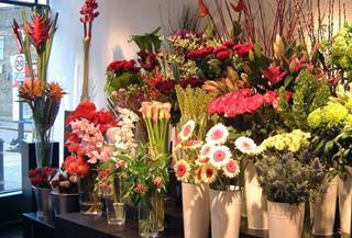Cửa hàng bán hoa