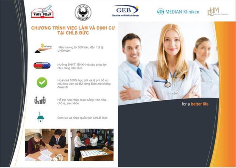 Cơ hội làm việc tại Đức với mức lương 7000 EUR