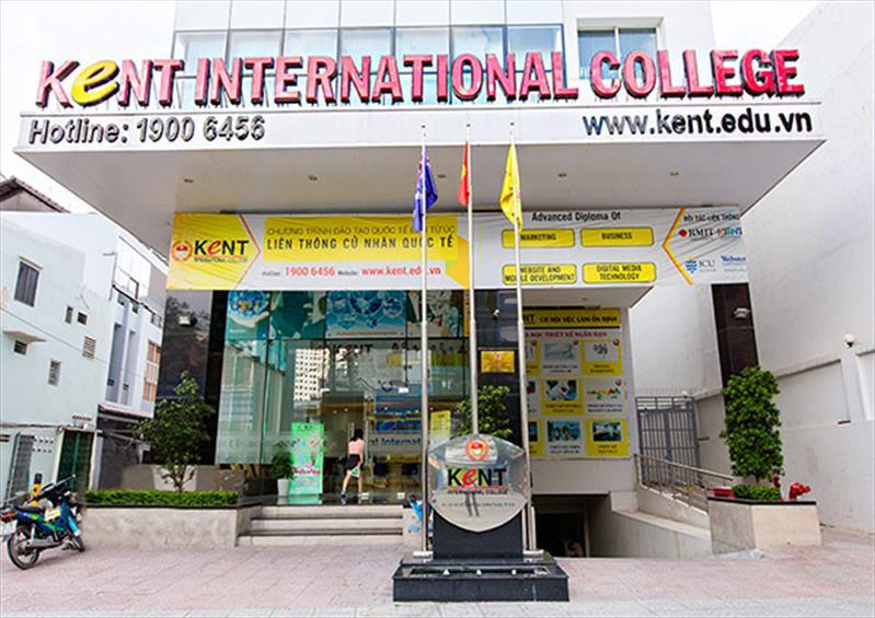 Chỉ tiêu tuyển sinh năm 2016 Trường CĐ Quốc tế KENT là 850 sinh viên